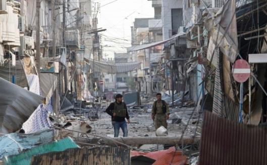 Situação atual de Kobane