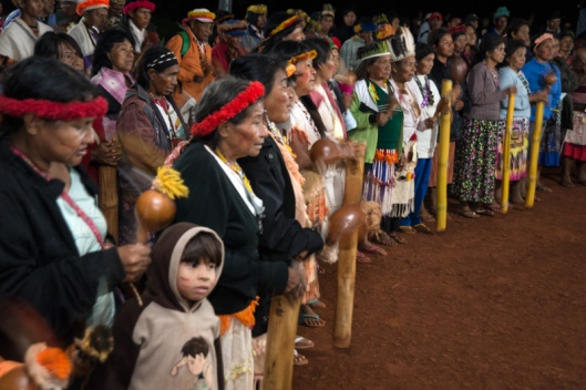 Aty Guasu Kunhangue na aldeia Sucuriú