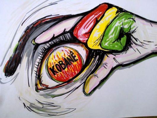Kobane, por Talita Rauber