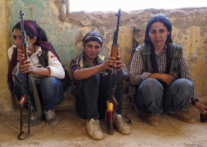kurdish combatentes